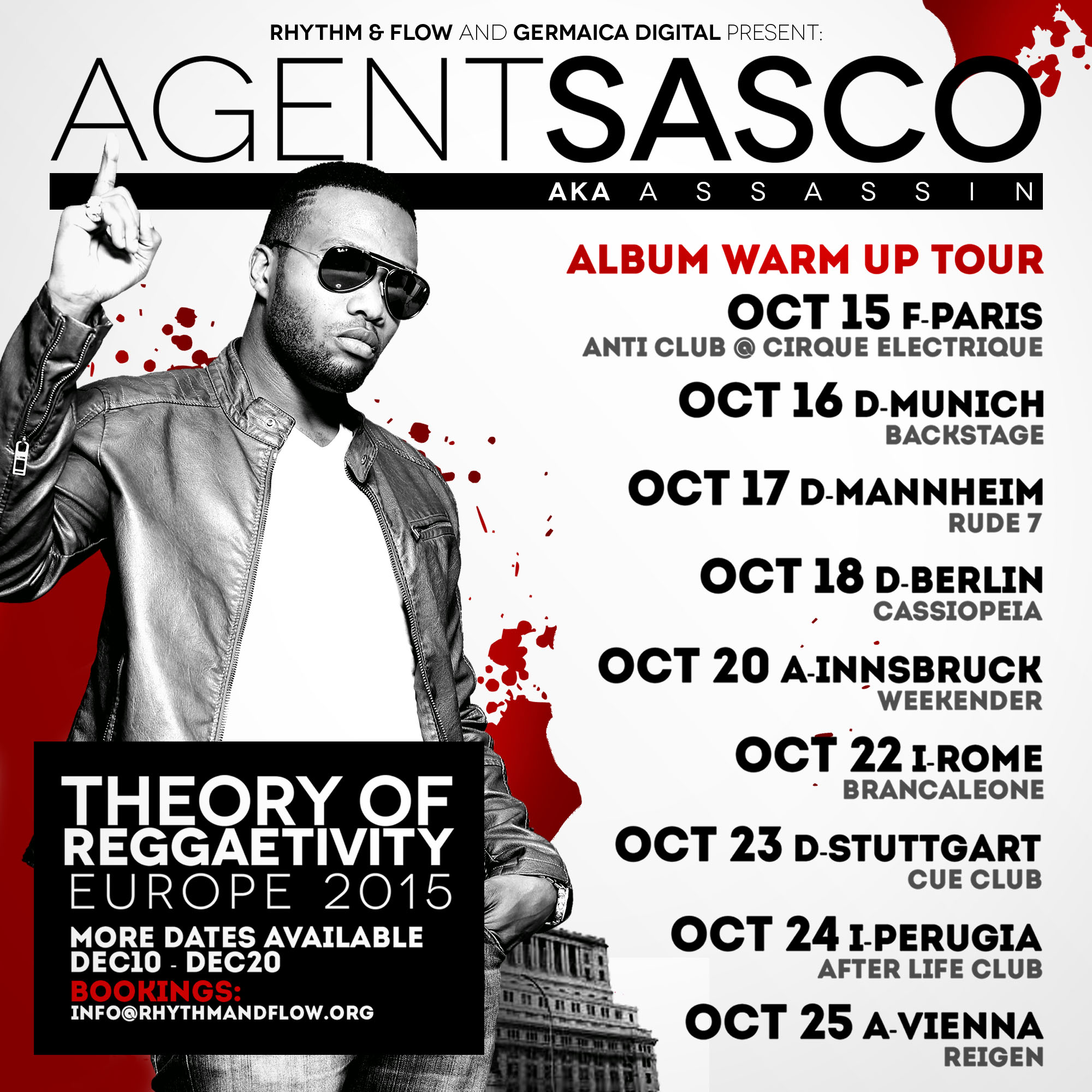 ASSASSIN AKA AGENT SASCO – THEORY OF REGGAETIVITY ALBUM WARM